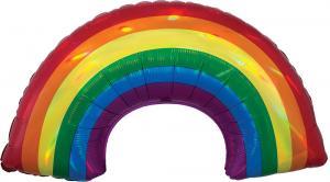 Heliumballong Regnbåge med helium