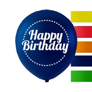 Latexballonger happy birthday
