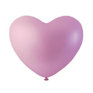 Hjärtformade ballonger Rosa
