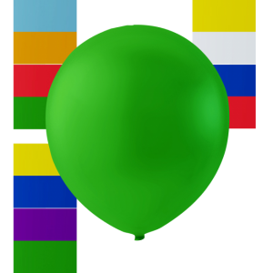 Latex Ballonger grön