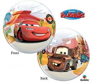 Bubbles heliumballonger Disney cars