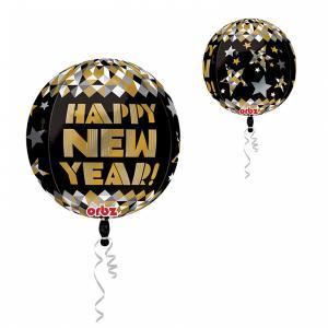 Folieballong Orbz Nyår