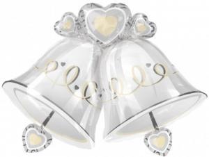 bjällra kärlek heliumballong