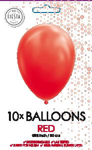 Latex ballonger röd