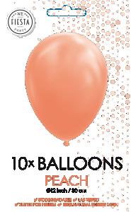 Latex ballonger persika