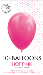 Latex ballonger rosa