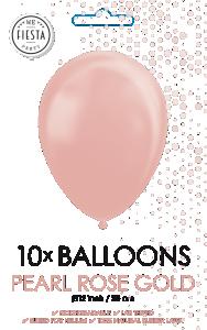 Latexballonger Pärlemor Rose