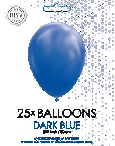 Latex ballonger mörkblå