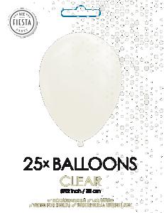 Latex ballonger genomskinlig