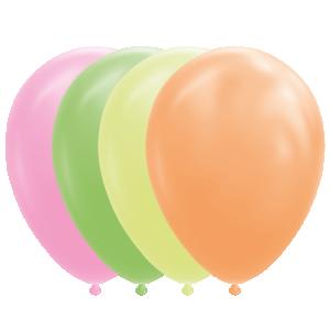 Latexballonger Neon Mix