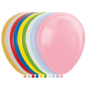 Latexballonger Metallic Mix