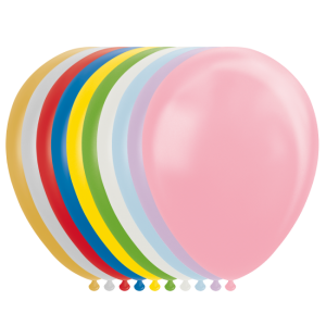 Latex ballonger metallic mix