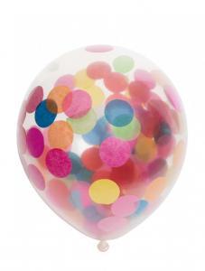 Latexballonger Konfetti Mixade Färger