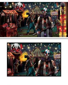 cirkus halloween skräck Banner