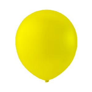 Latexballong gul 30cm