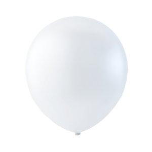 Latexballong vit 30cm