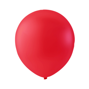 Latex ballonger Röd 100-pack