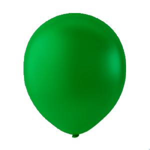 Latex ballonger pastel mörkgrön