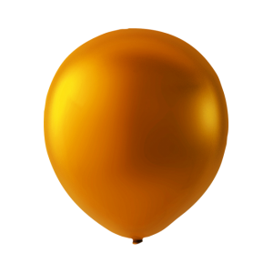 Latex ballonger Metallic orange