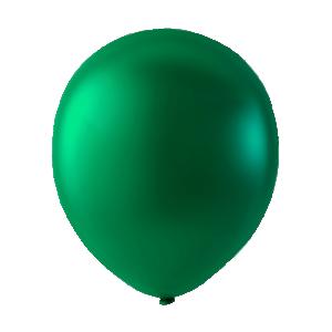 Latexballonger Metallica Grön