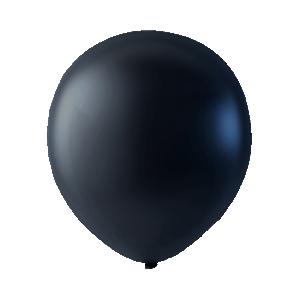 Latexballonger Metallica svart
