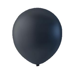 Latexballong 30cm svart