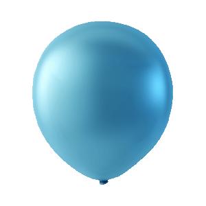 Latex ballonger Pärlemor ljusblå
