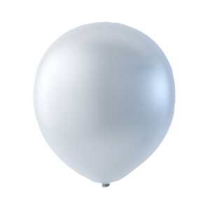 Latex ballonger Pärlemor Vit
