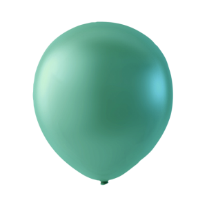 Latexballonger 100-pack Pärlamor Grön