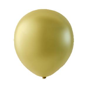 Latexballonger Pärlemor Vanlijgul