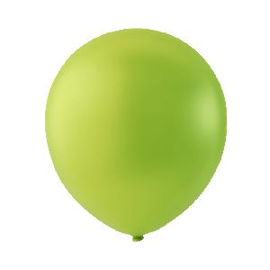 Latexballong grön 30cm ljusgrön