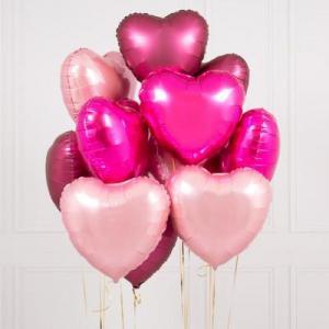 Alla hjärtansdag 12st ballonger