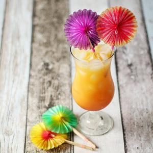 Cocktail Solfjädrar