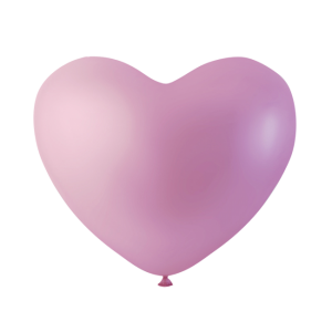 Latex ballonger rosa hjärta