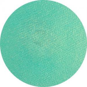 Grön skimmrig ansiktsfärg/smink/bodypaint