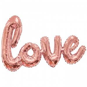 """Folieballong """"Love"""" Rose 36"""""""