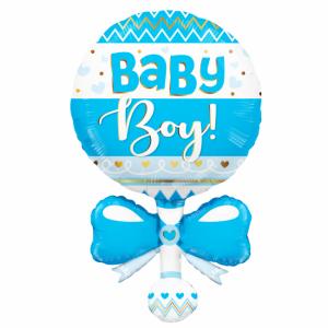 Floieballong baby boy bjällra