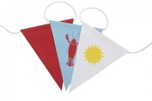 Flaggspel kräfta och sol