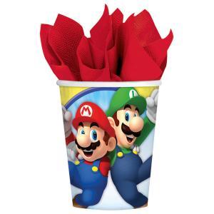 8- pappers muggar Super Mario