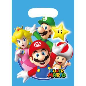 8-pack Presentpåsar Super Mario