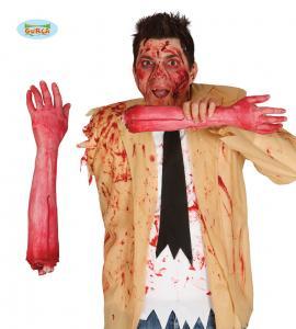 Avhuggen blodig arm 40 cm