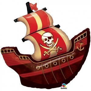 Heliumballong Pirat Skepp