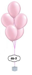 5 ballongsbukett