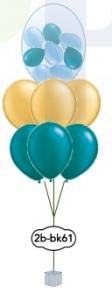 """6x12"""" Ballong i ballong bukett +16"""""""