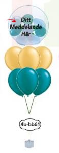 """6x12""""+ 1x24"""" Ballong i ballong bukett"""
