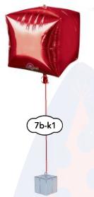 """Singel Orbz, Kub eller Diamant 15"""" (38cm)"""