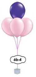 4 ballongsbukett
