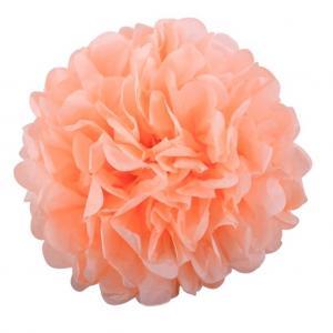 Pom Pom bollar 20cm persika