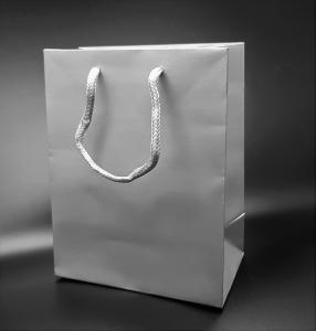 Presentpåse Lyx Silver