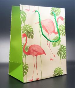 Presentpåse Flamingo search (medium size)